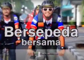 Tips Bersepeda Bersama JNE dan WMS