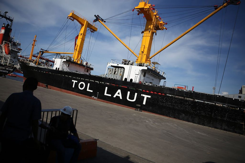 subsidi tol laut oleh Kemenhub indonesia timur logistik