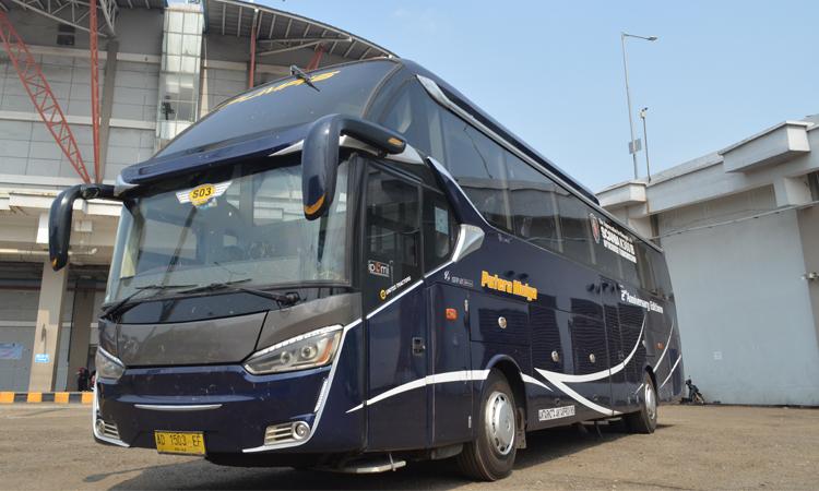 Bus Social Distancing PO Putera Mulya