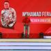 M. Feriadi selaku Presiden Direktur JNE