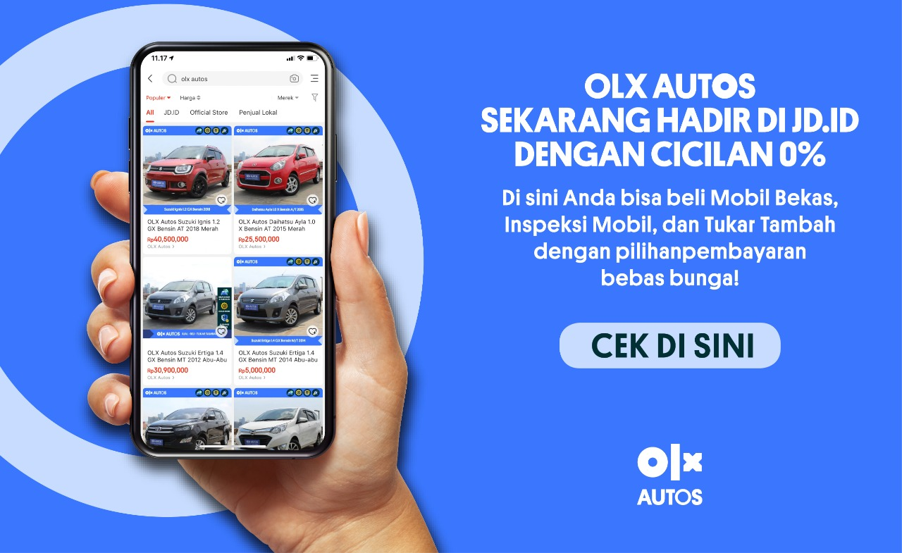 Melalui layanan OLX Autos Jual - Beli - Tukar - Tambah ini pelanggan bisa memilih dan mendapat mobil bekas sesuai yang diinginkan.