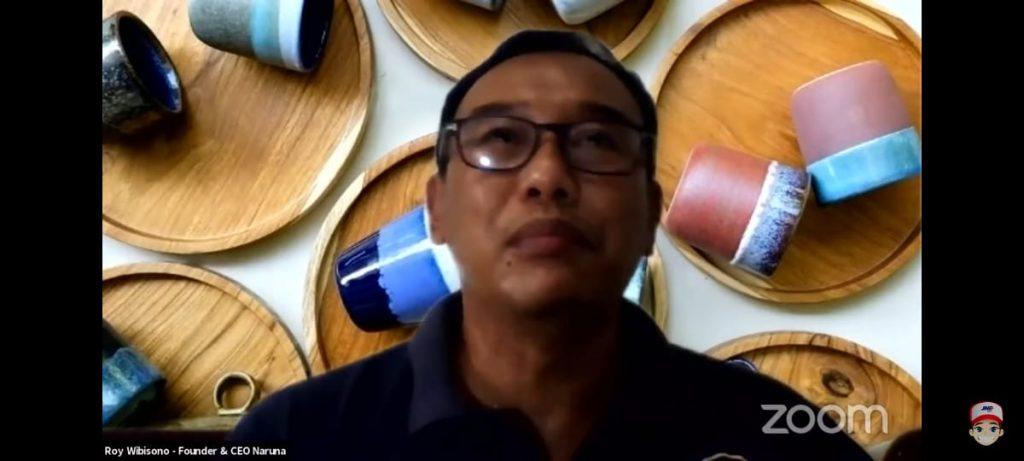 Roy Wibisono, Founder dan CEO Naruna pelaku UMKM keramik
