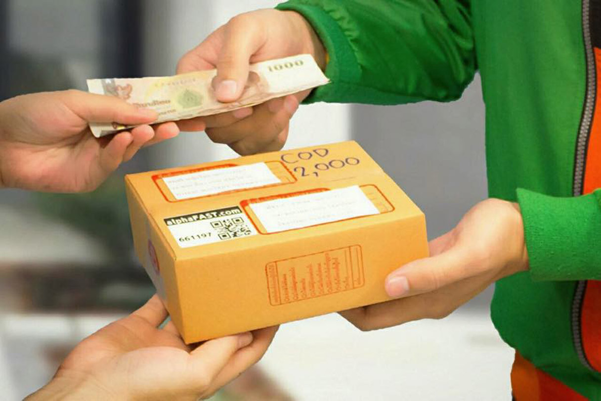 Tips COD cash on delivery