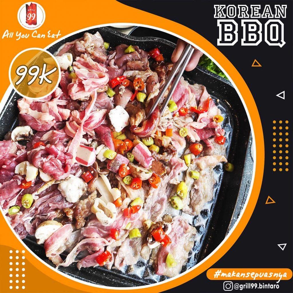 Grill 99 makan sepuasnya di Jakarta