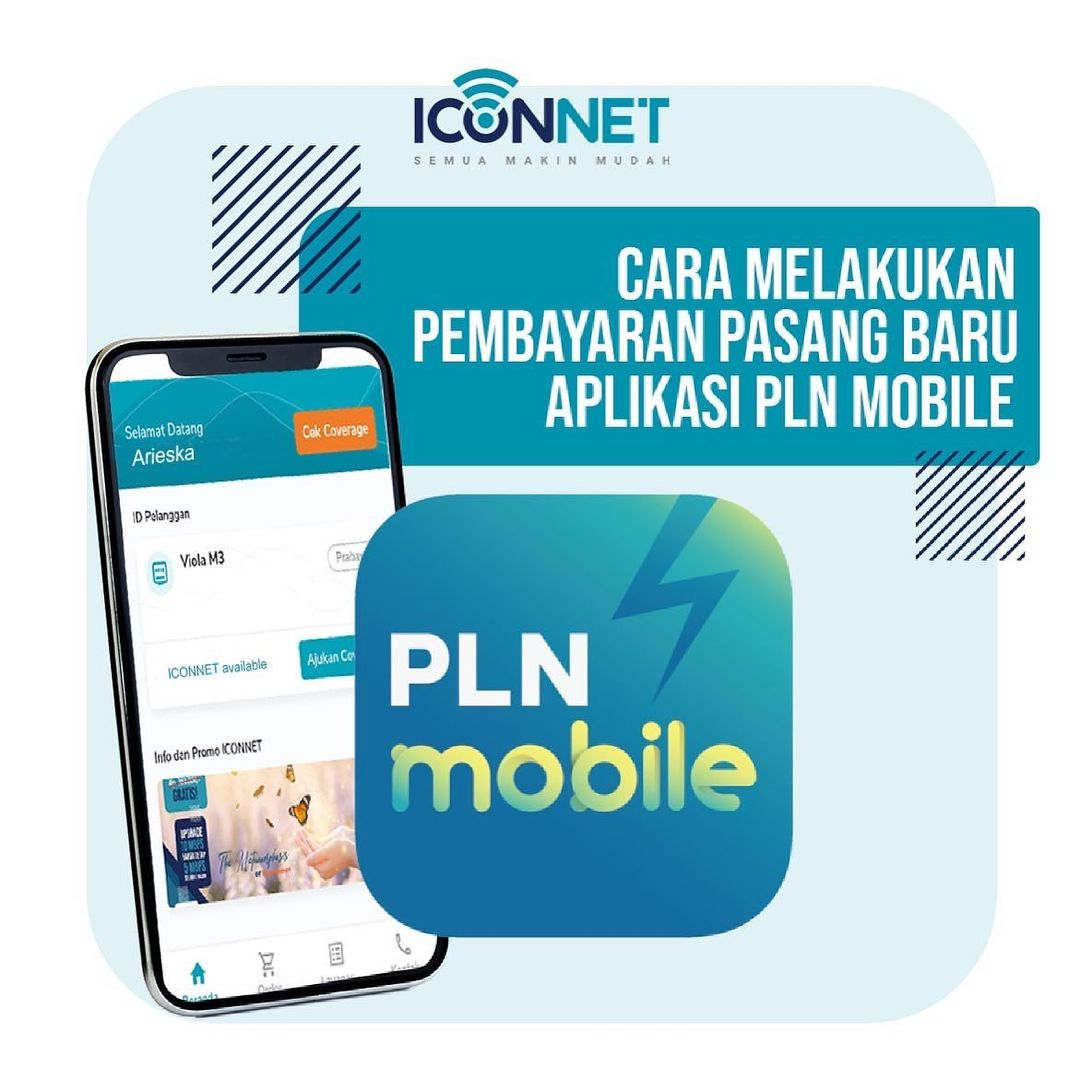 Cara pasang Internet Iconnet PLN