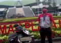 Hendriyanto yang setiap hari bertugas delivery ke gedung DPR RI.