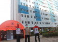 Rusun Nagrak, Cilinding, Jakarta Utara difungsikan sebagai isolasi pasien Covid-10 tanpa gejala