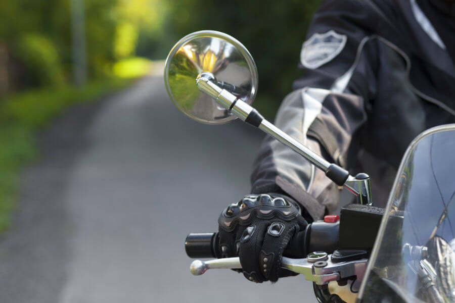 Blind Spot atau titik buta motor