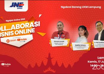 JNE Lampung siap kolaborasi dengan UMKM