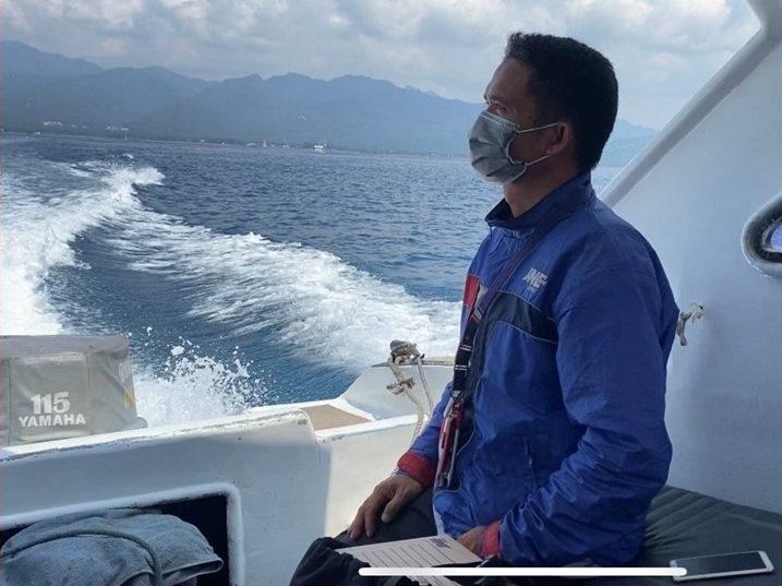 Mediyanto Rider Zona D JNE Mataram