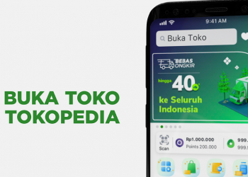 Cara buka toko di Tokopedia
