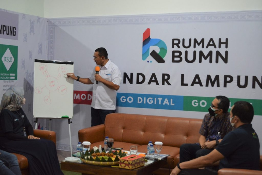Apresiasi BUMN untuk PLN Lampung
